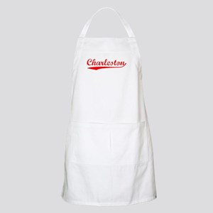 Vintage Charleston (Red) BBQ Apron