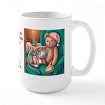 Miss B and Teddy Large Mug