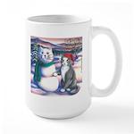 Snowcats Large Mug