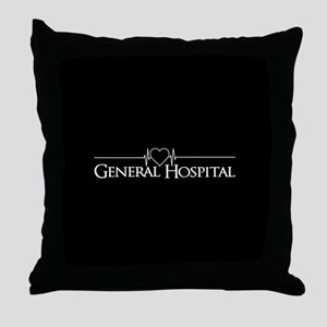General Hospital Throw Pillow