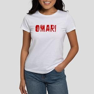 Omari Faded (Red) Women's T-Shirt