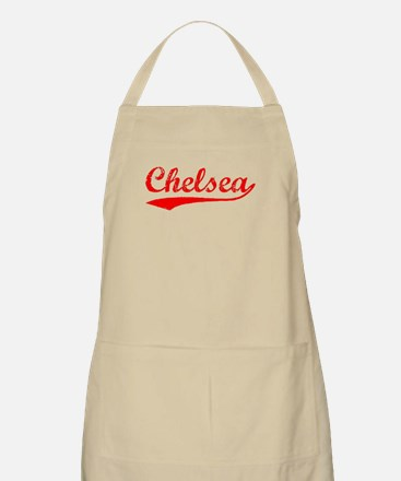 Vintage Chelsea (Red) BBQ Apron