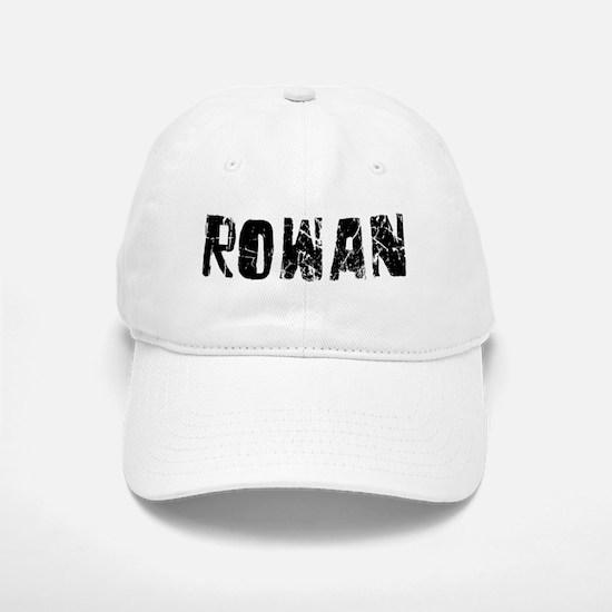 Rowan Faded (Black) Baseball Baseball Cap