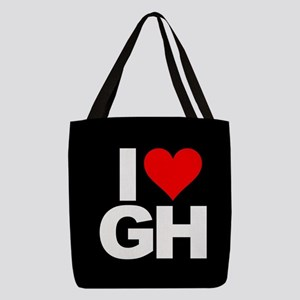 General Hospital I Heart GH Polyester Tote Bag