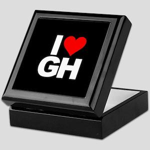General Hospital I Heart GH Keepsake Box