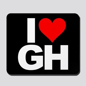 General Hospital I Heart GH Mousepad