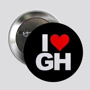 """General Hospital I Heart GH 2.25"""" Button (10 pack)"""