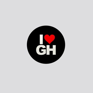 General Hospital I Heart GH Mini Button