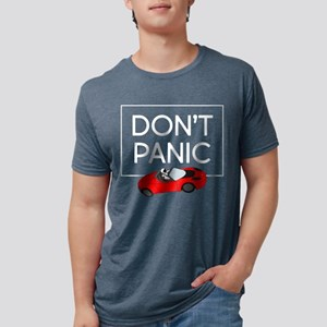 Roadster - Don't Panic Mens Tri-blend T-Shirt