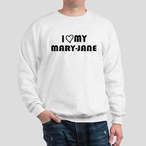 I Luv My Mary-Jane, Weed Sweatshirt