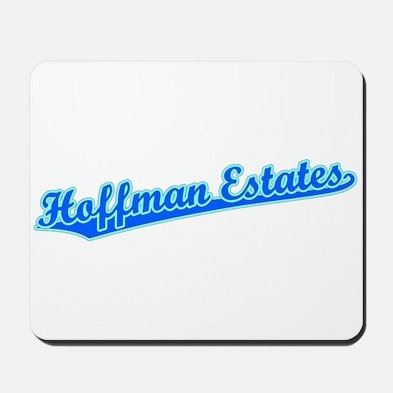 Retro Hoffman Esta.. (Blue) Mousepad