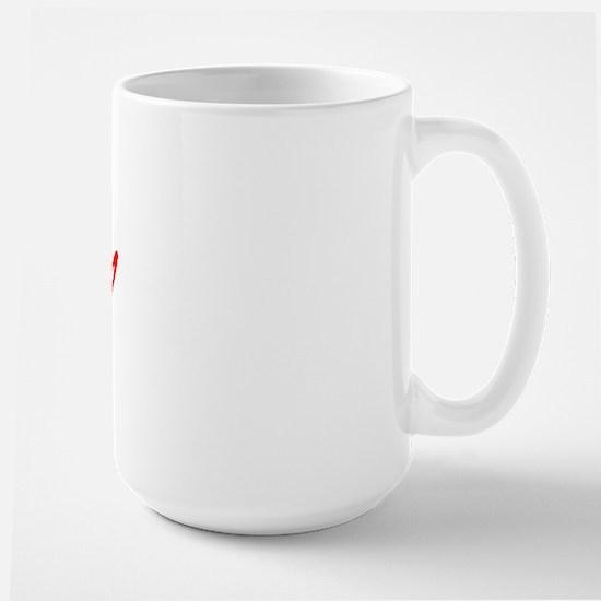 Vintage Chico (Red) Large Mug