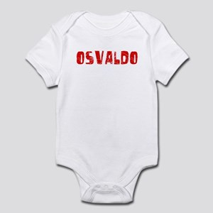 Osvaldo Faded (Red) Infant Bodysuit