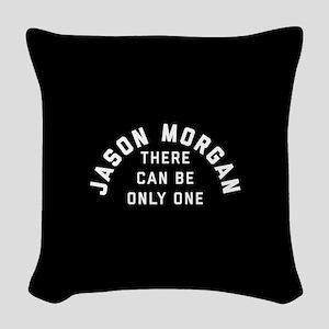 General Hospital Jason Morgan Woven Throw Pillow
