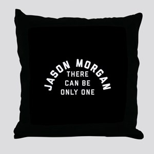 General Hospital Jason Morgan Only On Throw Pillow