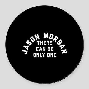 General Hospital Jason Morgan Onl Round Car Magnet