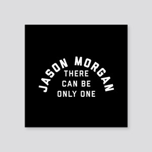 "General Hospital Jason Morg Square Sticker 3"" x 3"""