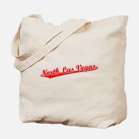 Retro North Las Ve.. (Red) Tote Bag