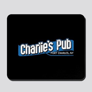 General Hospital Charlie's Pub Mousepad