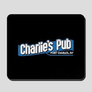 General Hospital Charlie's Pub Mousepad