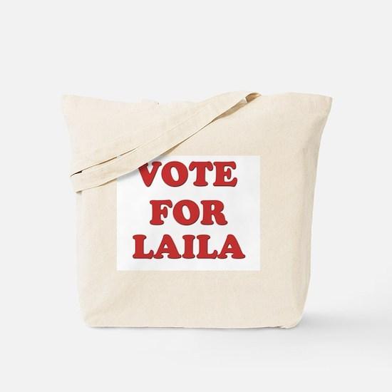 Vote for LAILA Tote Bag