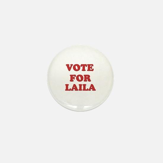Vote for LAILA Mini Button