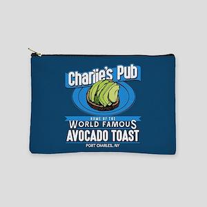 General Hospital Charlie's Pub Avocado Makeup Bag