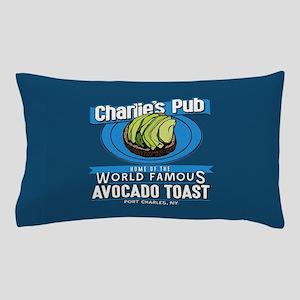 General Hospital Charlie's Pub Avocado Pillow Case