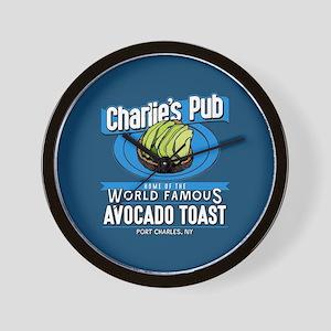 General Hospital Charlie's Pub Avocado Wall Clock