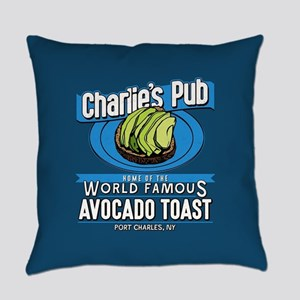 General Hospital Charlie's Pub Avo Everyday Pillow