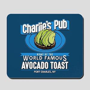 General Hospital Charlie's Pub Avocado T Mousepad