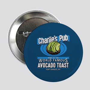 """General Hospital Charlie's 2.25"""" Button (10 pack)"""