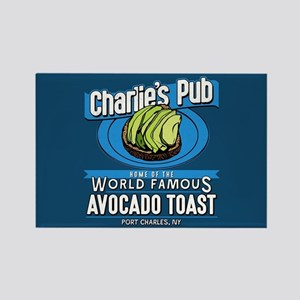 General Hospital Charlie's Pub Av Rectangle Magnet
