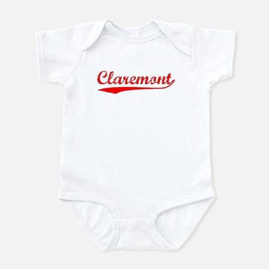 Vintage Claremont (Red) Infant Bodysuit