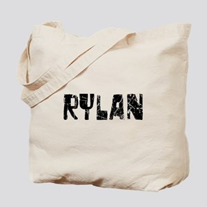 Rylan Faded (Black) Tote Bag