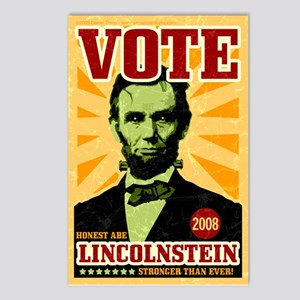 Abe Lincoln Stein Postcards (Package of 8)
