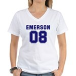 Emerson 08 Women's V-Neck T-Shirt