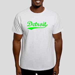 Vintage Detroit (Green) Light T-Shirt