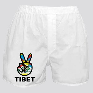 Peace In Tibet Boxer Shorts