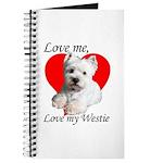Love My Westie Journal
