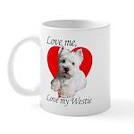 Love My Westie Mug