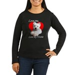 Love My Westie Women's Long Sleeve Dark T-Shirt