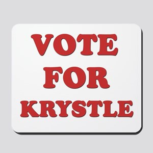 Vote for KRYSTLE Mousepad