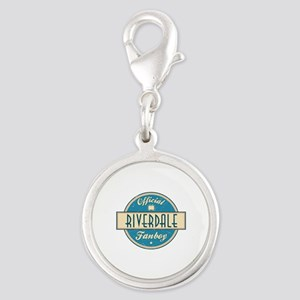Official Riverdale Fanboy Silver Round Charm