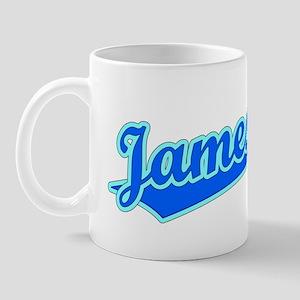 Retro Jamestown (Blue) Mug