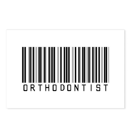 Orthodontist Barcode Postcards (Package of 8)
