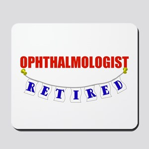 Retired Ophthalmologist Mousepad