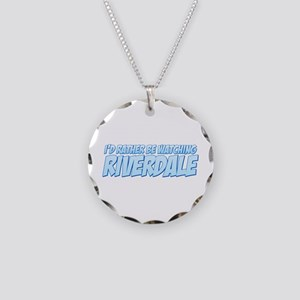I'd Rather Be Watching Riverdale Necklace Circle C