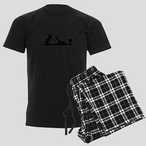 Hand Plane Silhouette Men's Light Pajamas
