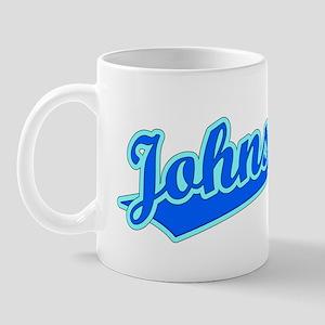 Retro Johnstown (Blue) Mug